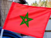 Флаг Марокко на машину