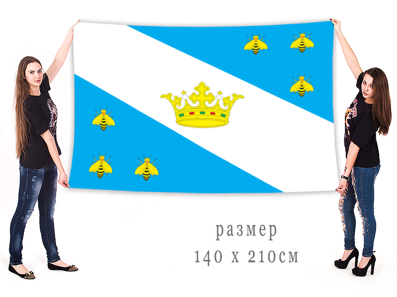 Большой флаг Медынского района