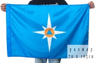 Флаг Министерства по чрезвычайным ситуациям РФ