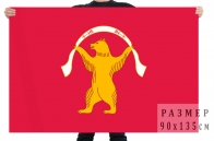 Флаг Мишкинского района Республики Башкортостан