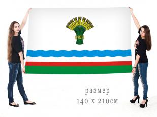 Большой флаг муниципального образования Олёкминский район