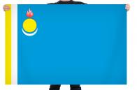 Флаг муниципального района «Дзун-Хемчикский кожуун» Республики Тыва