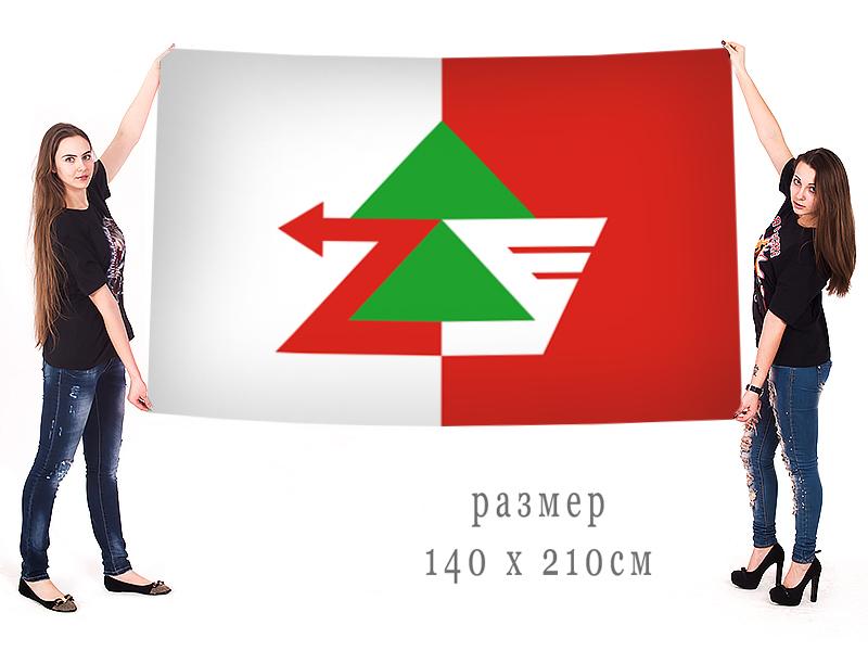 Большой флаг муниципального района Печора