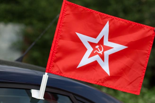 Флаг на машину «Гюйс ВМФ СССР»