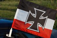 Флаг на машину «Гюйс Императорских ВМС Германии»