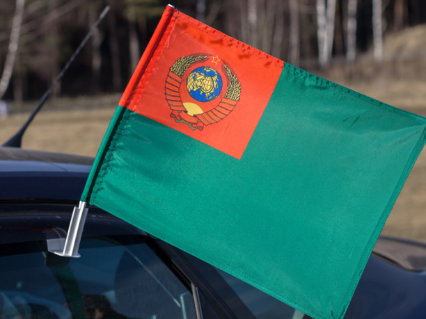 Флаг на машину «Пограничные войска СССР»
