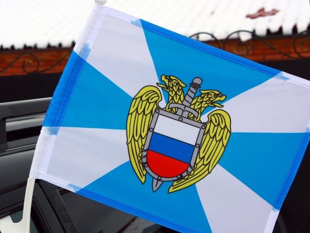 Флаг ФСО на автомобиль с кронштейном