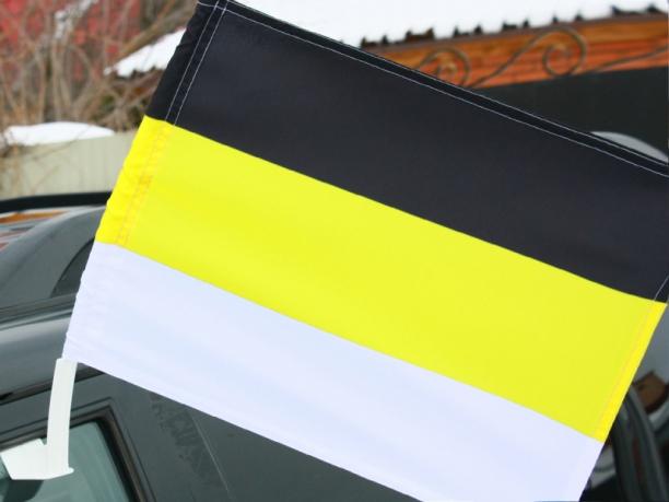 Имперский флаг на машину с кронштейном «Триколор»
