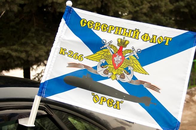 Флаг на машину с кронштейном К-266 «Орел» СФ