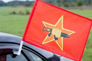 Купить двусторонний флаг «Краповые Береты Спецназ»