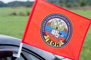 Двухсторонний флаг «21 отряд Спецназа ВВ Тайфун»