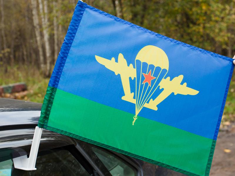 Флаг на машину с кронштейном Воздушно-десантных войск «ВДВ СССР»