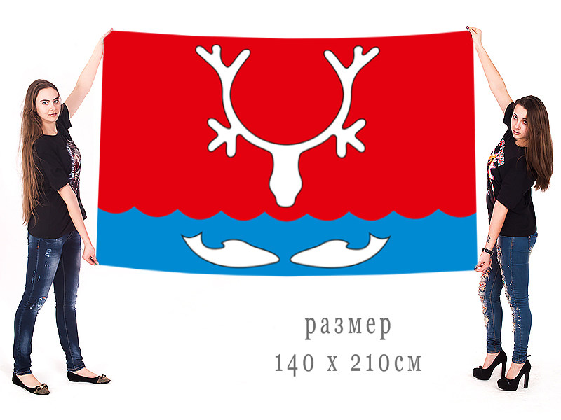 Большой фаг города Нарьян-Мар Ненецкого АО