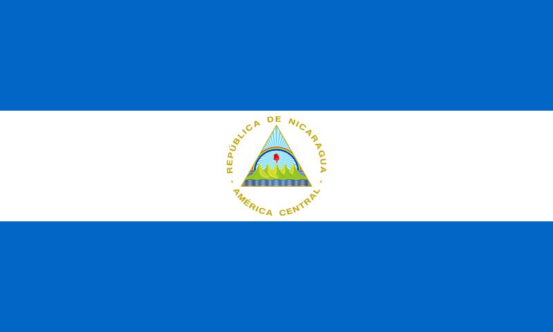 Флаг Никарагуа