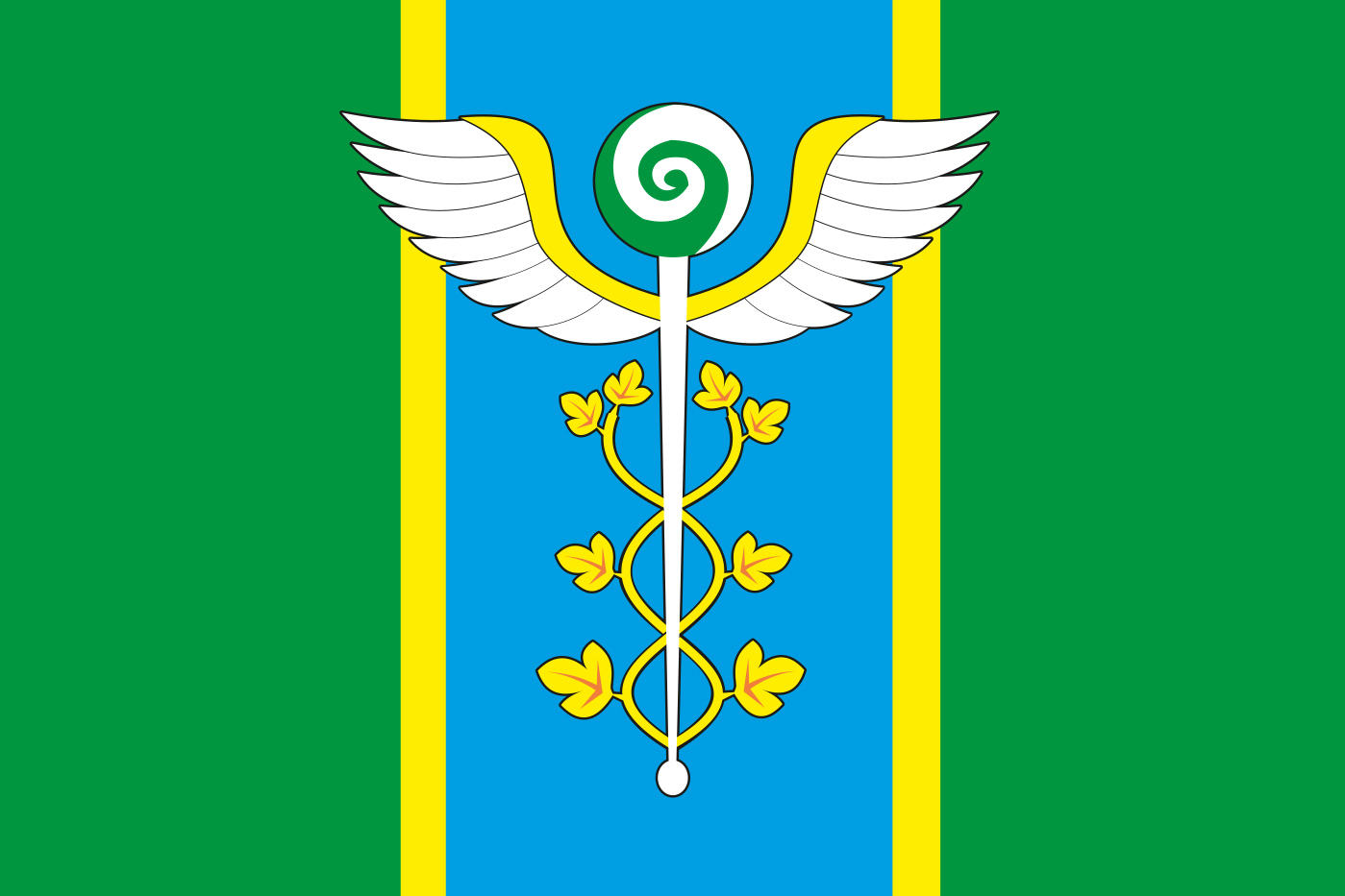 Флаг Новоивановского