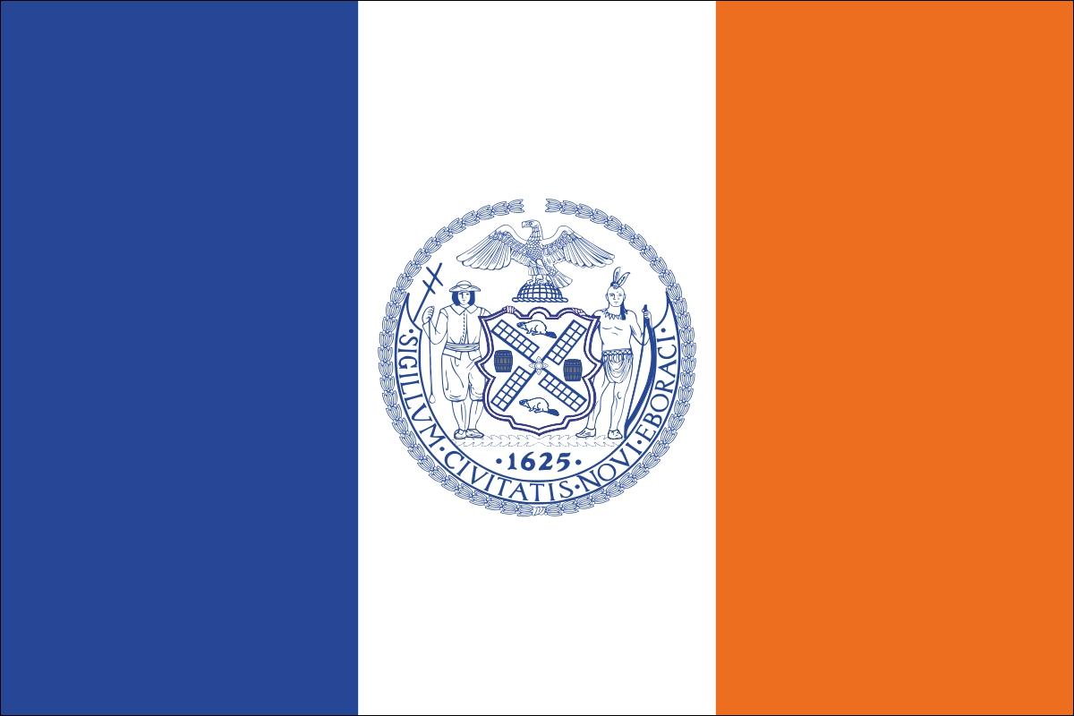 Флаг Нью-Йорка