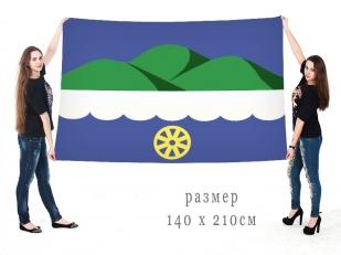 Большой флаг Октябрьска