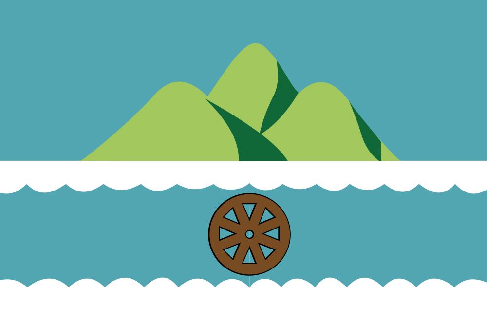 Флаг Октябрьска