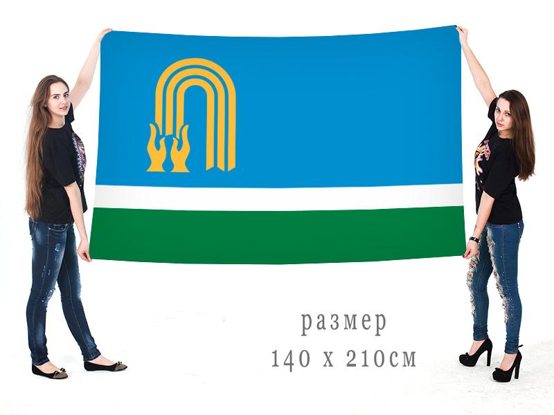 Большой флаг Октябрьского
