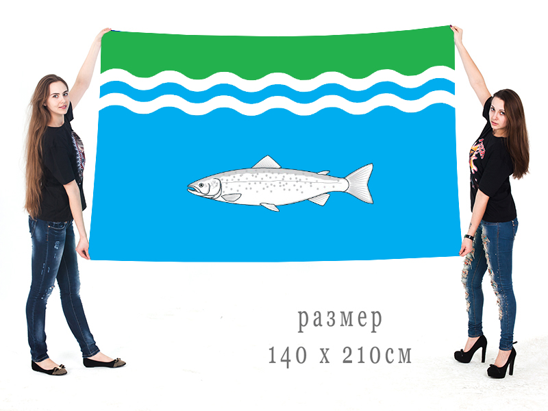Большой флаг Онежского района