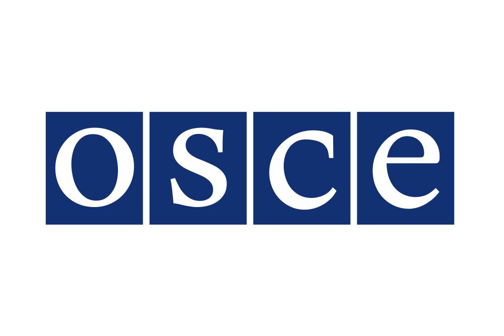 Флаг Организации по безопасности и сотрудничеству в Европе