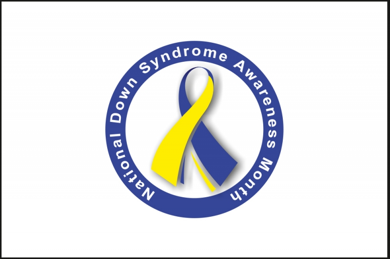 Флаг Организации синдрома Дауна