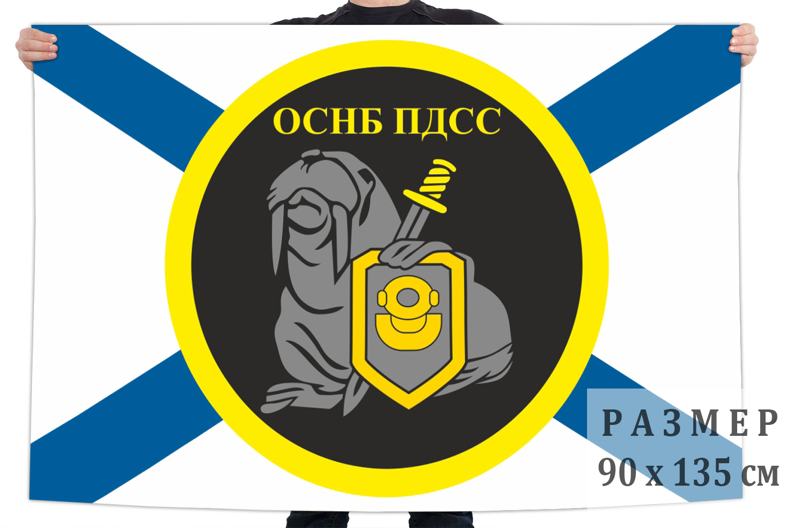Флаг ОСНБ ПДСС