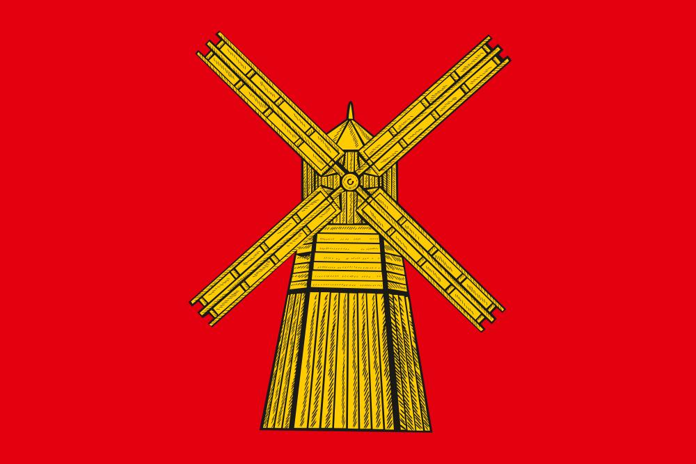 Флаг Питерского района