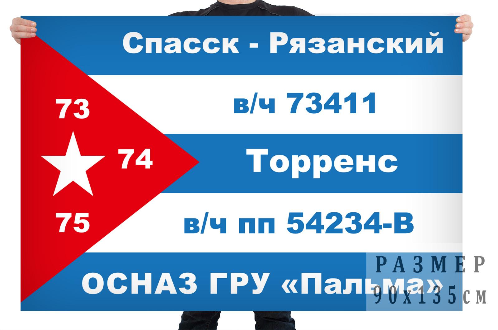 """Флаг подразделения особого назначения ГРУ """"Пальма"""""""
