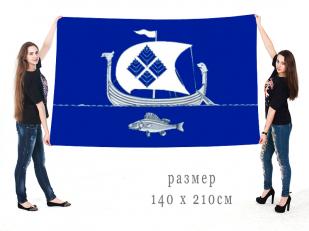 Большой флаг Приморского городского поселения