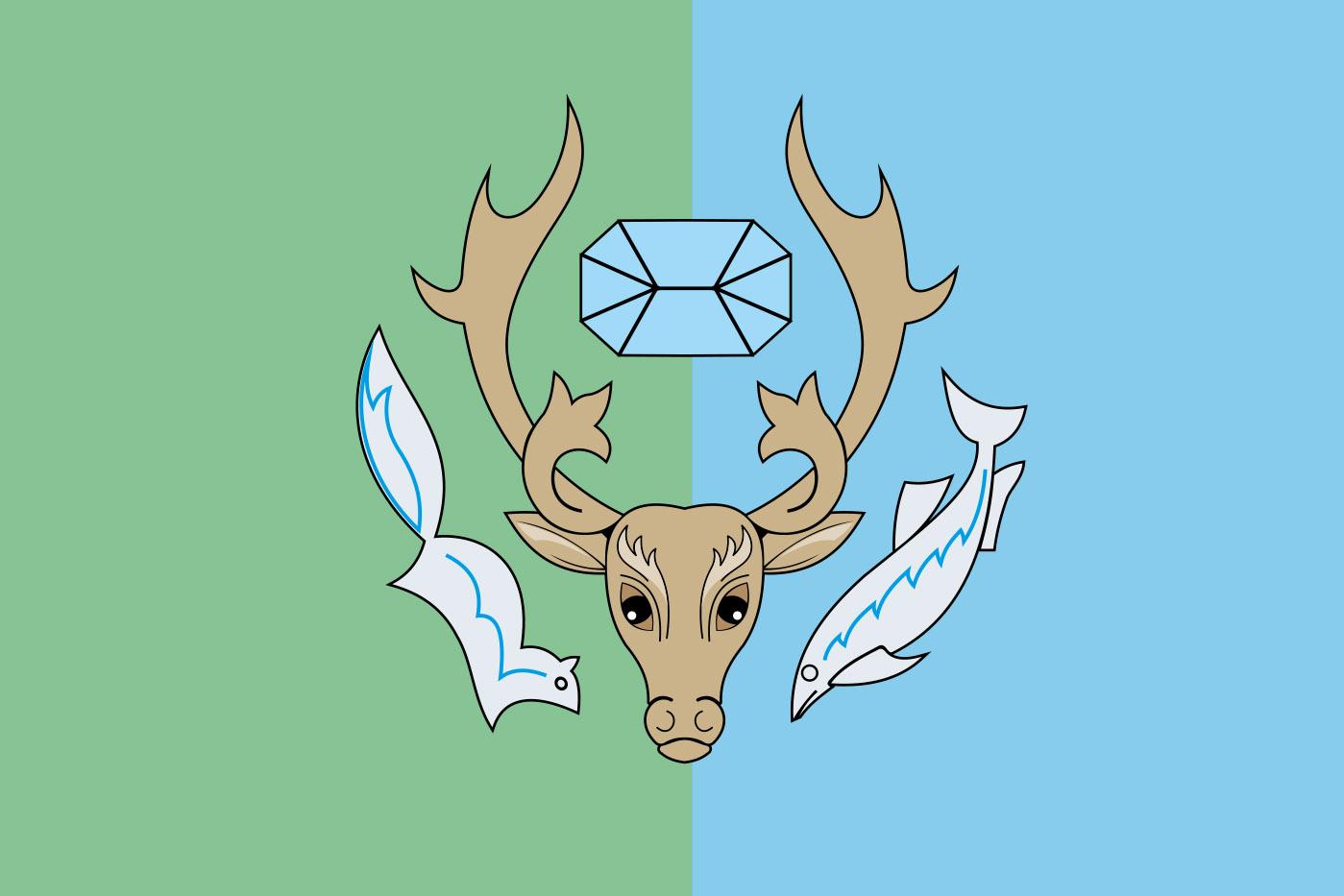 Флаг Приуральского района
