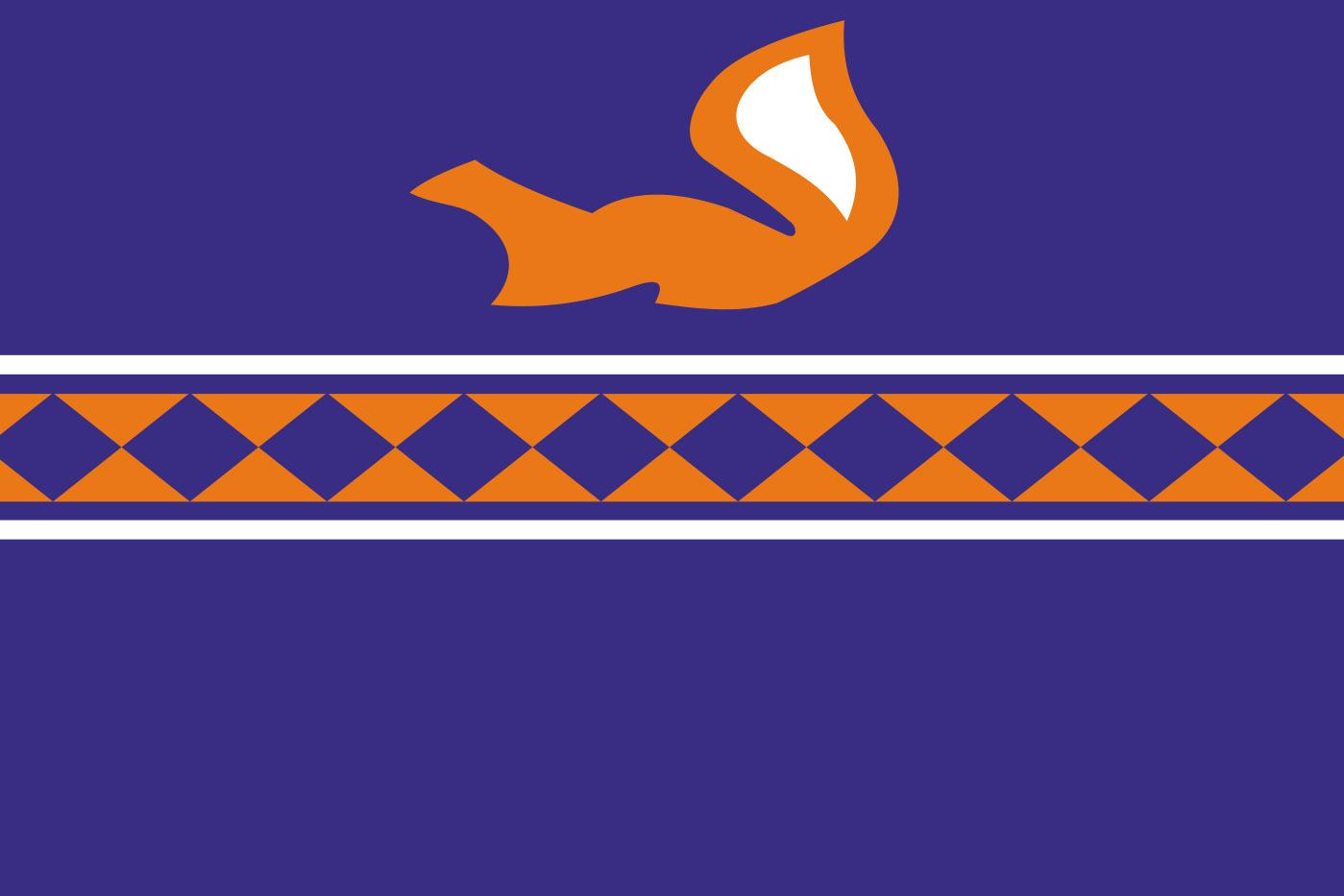 Флаг Пуровского района