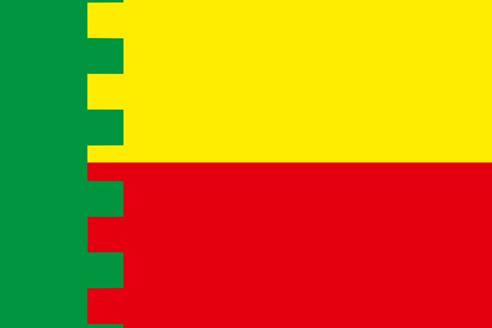 Флаг Пыталовского района