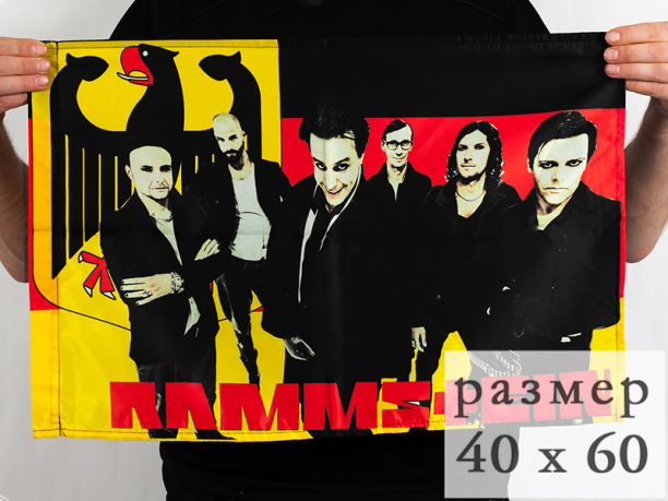 Флаг «Rammstein» 40x60 см