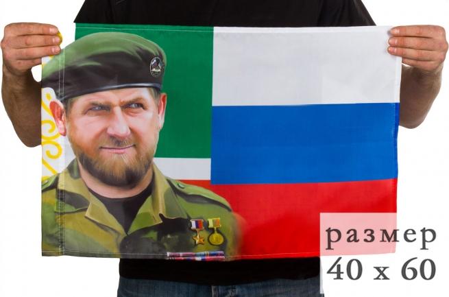 Флаг Рамзан Кадыров