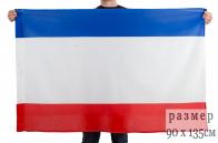 Флаг Республики Крым (на сетке)
