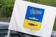 Флаг с гербом Мурманска на машину