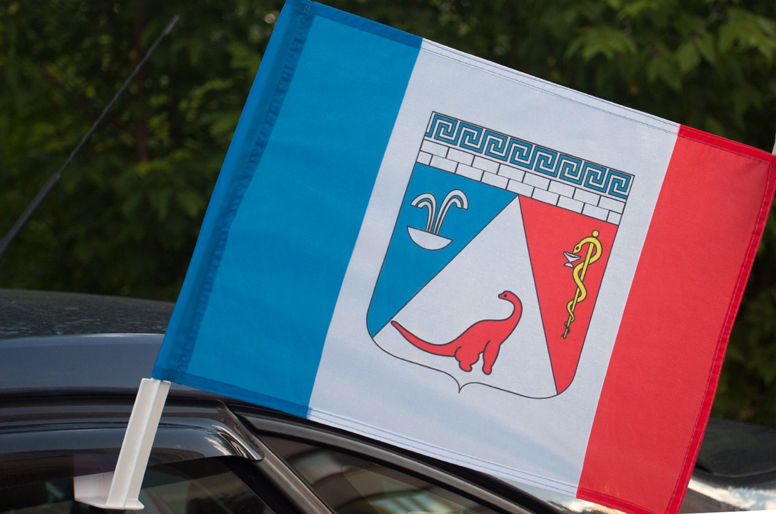 Флаг Саки на машину