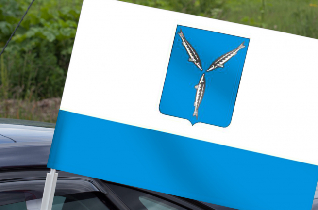 Флаг Саратова на машину