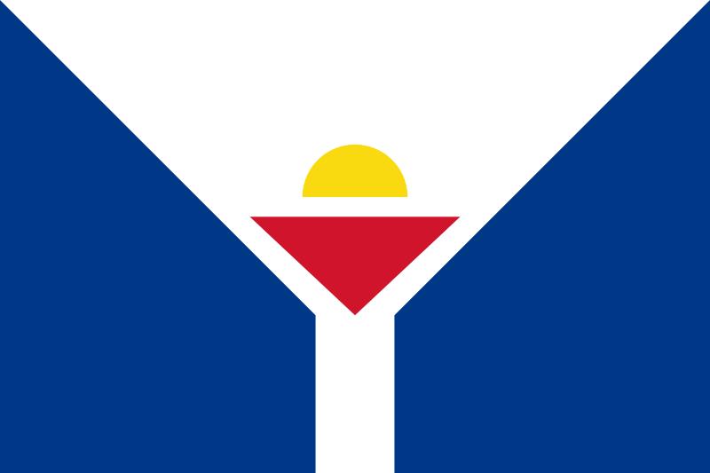 Флаг Сен-Мартена