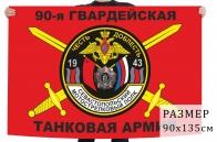 Флаг Севастопольского мотострелкового полка 90 гвардейской танковой армии