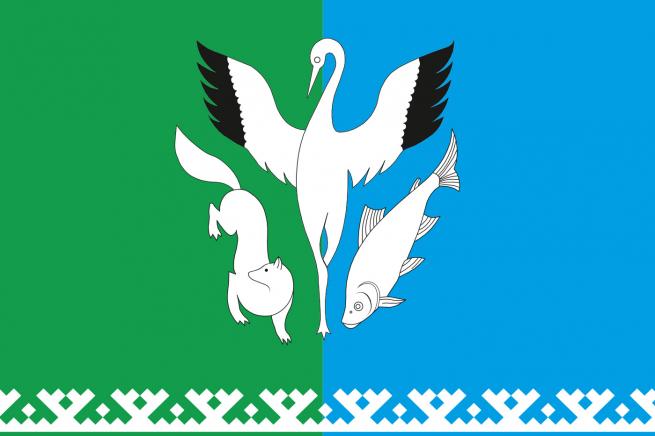 Флаг Шурышкарского района