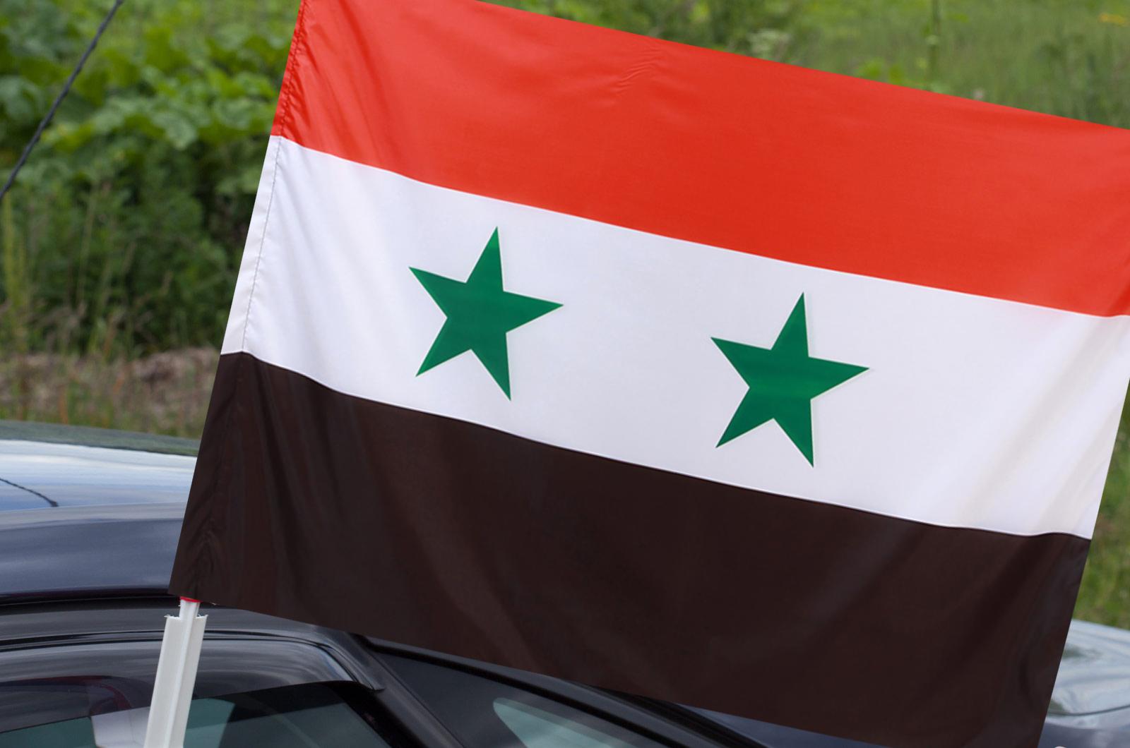 Автомобильный флаг Сирии