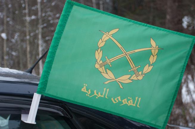 Флаг Сирийской Армии на машину