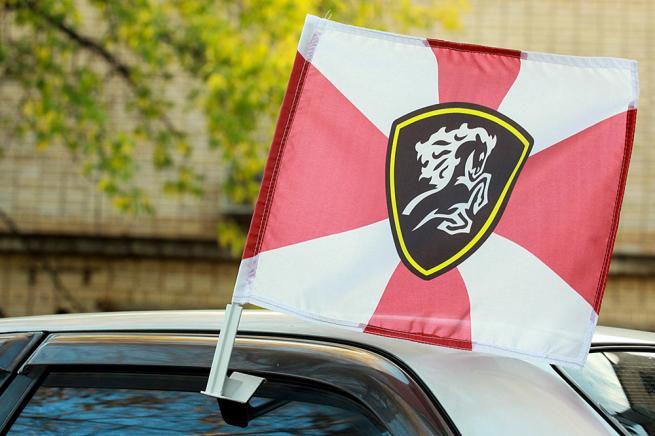 Флаг СКРК ВВ на машину