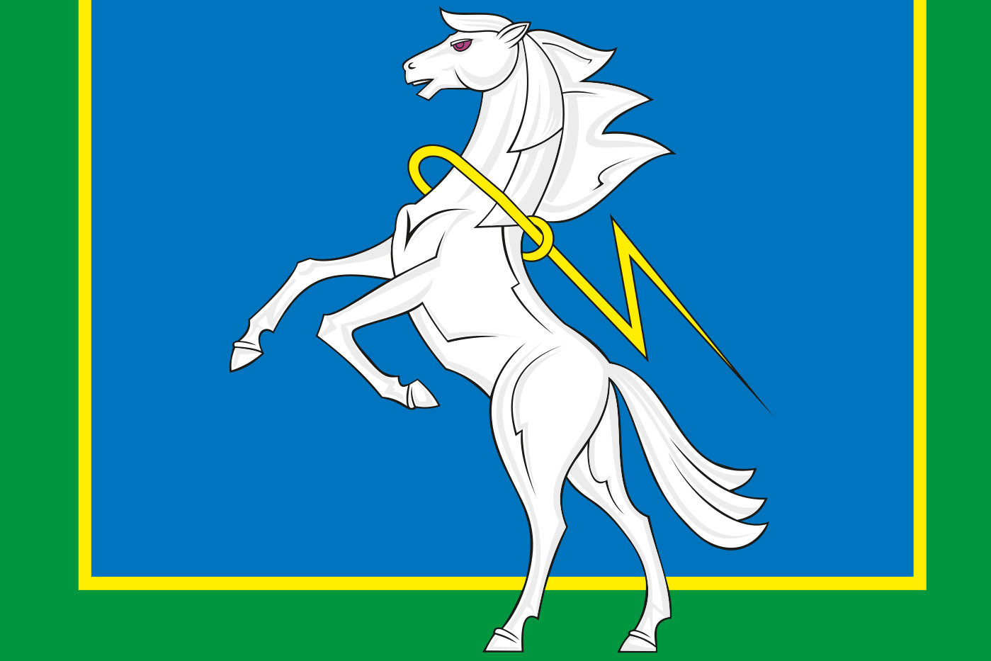 Флаг Сосновского района
