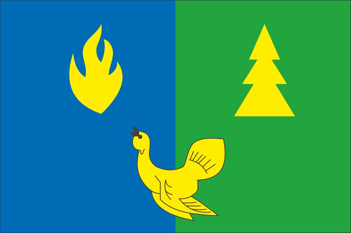 Флаг Советского района ХМАО