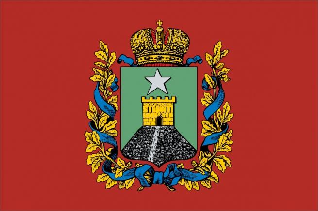 Флаг Ставропольской губернии