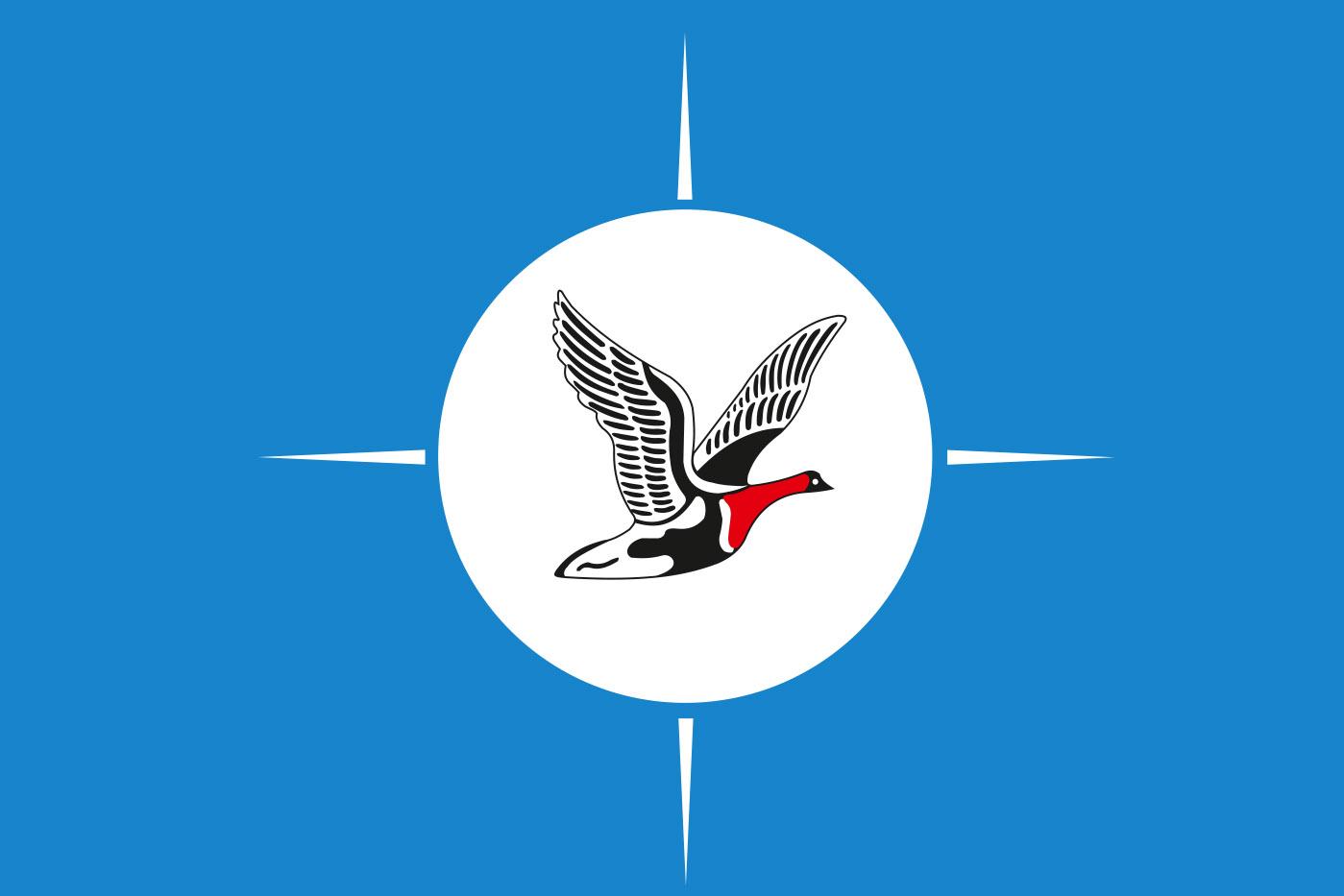 Флаг Таймырского Долгано-Ненецкого района