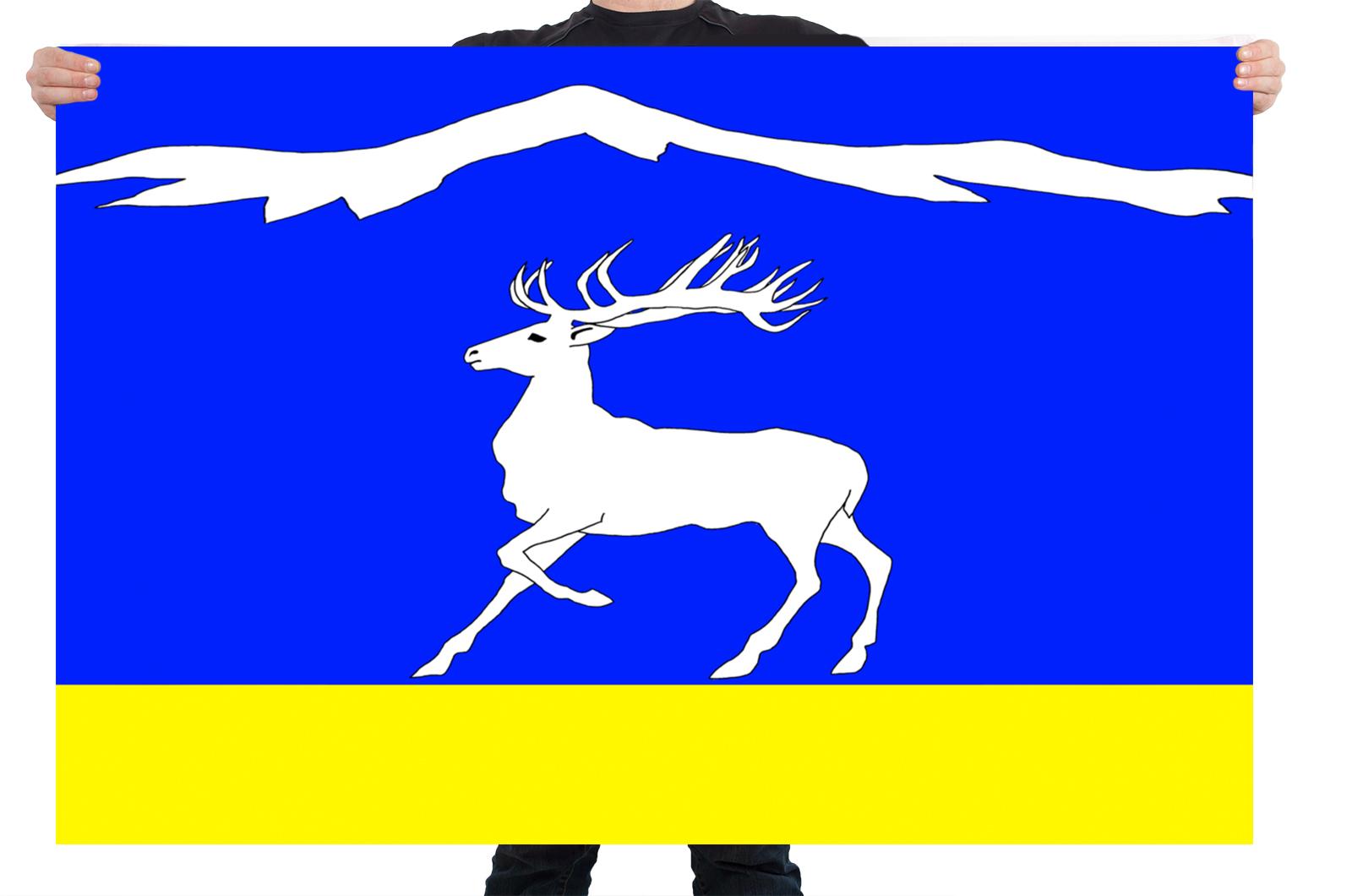Флаг Тандинского кожууна Республики Тыва